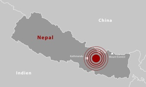 NEPAL - Erdbeben 12.05.2015 (Grau)